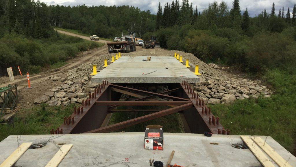 Steel Bridge   Bridge Construction & Mat Rental - Great Northern Bridgeworks