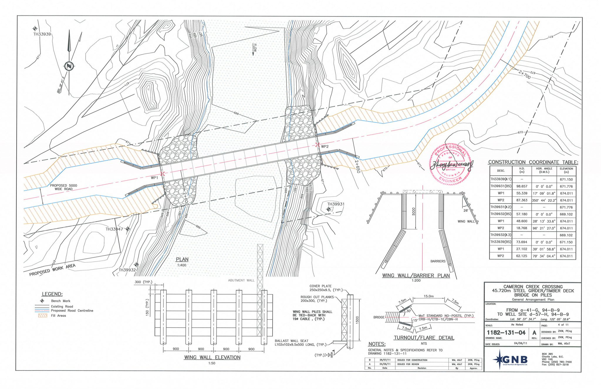 BRIDGE DESIGN- GNB Crew Energy Cameron Creek Final Design Rev A Tendered (All)(131)(Signed)_Page_05 EDIT