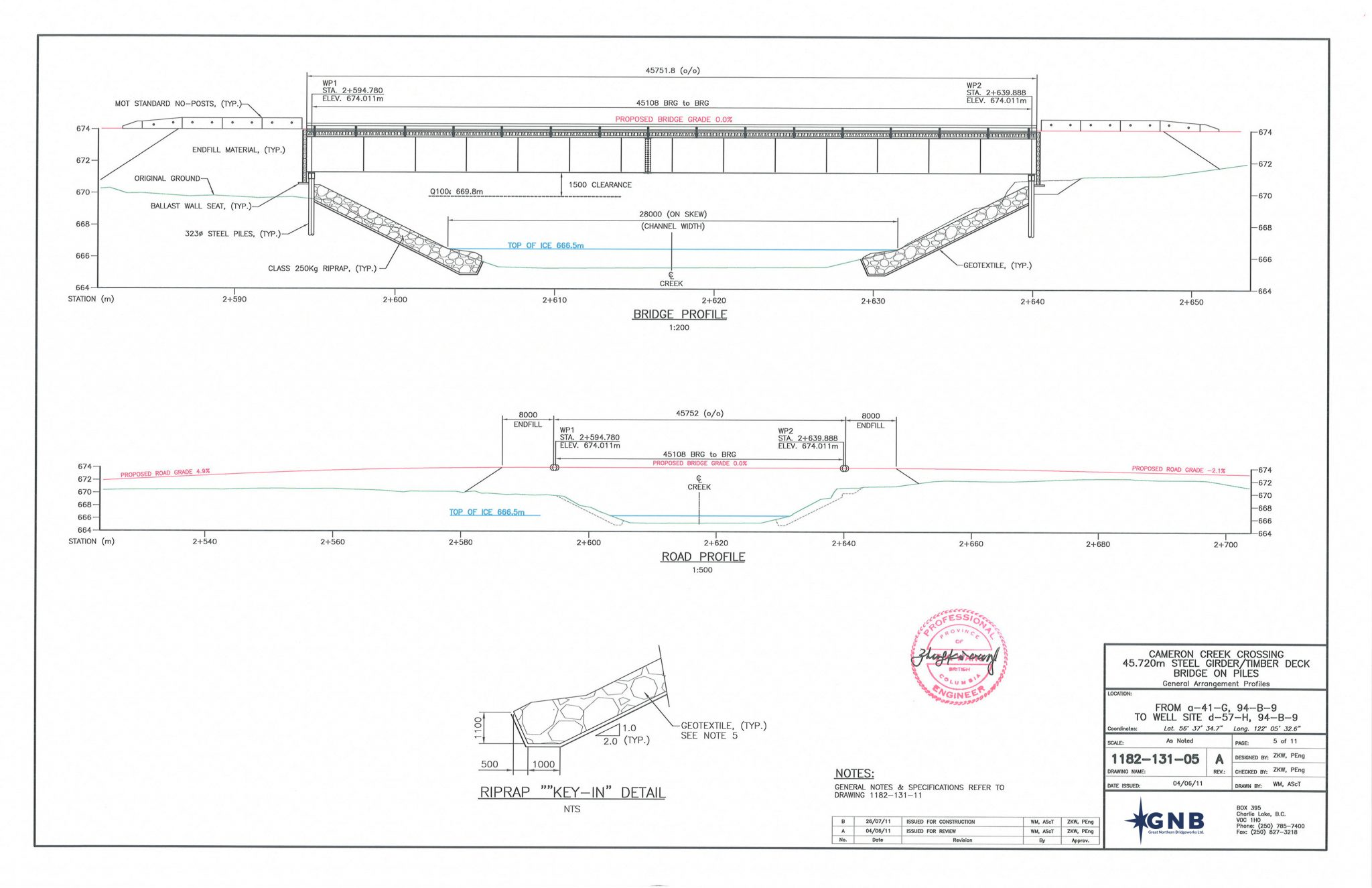 BRIDGE DESIGN- GNB Crew Energy Cameron Creek Final Design Rev A Tendered (All)(131)(Signed)_Page_06 EDIT