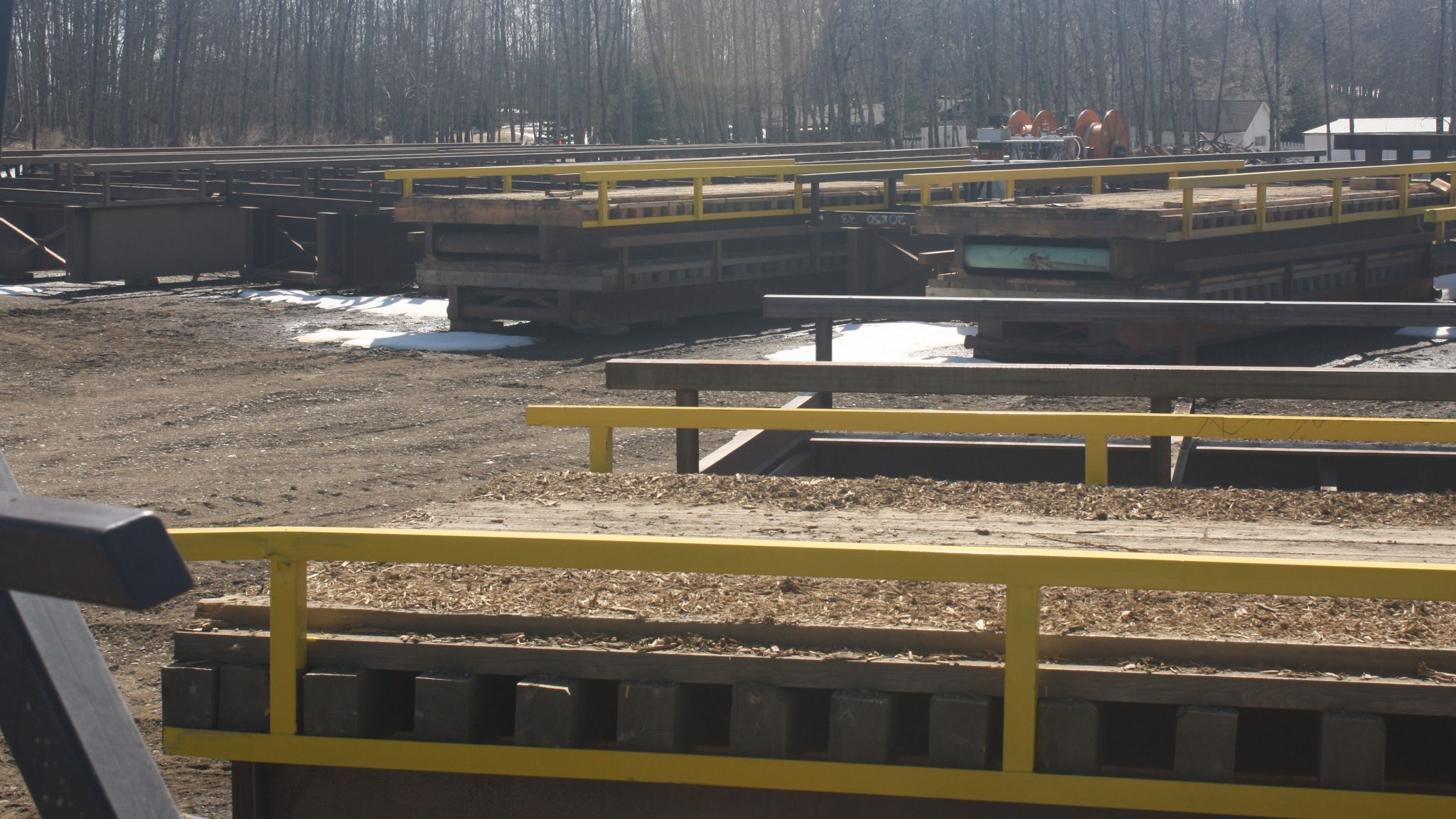 Portable Bridge Construction : Portable temporary low profile bridge construction by gnb