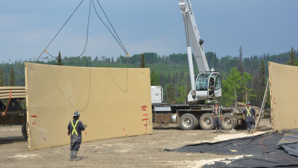 C-Ring Installation | Bridge Construction & Mat Rental - Great Northern Bridgeworks