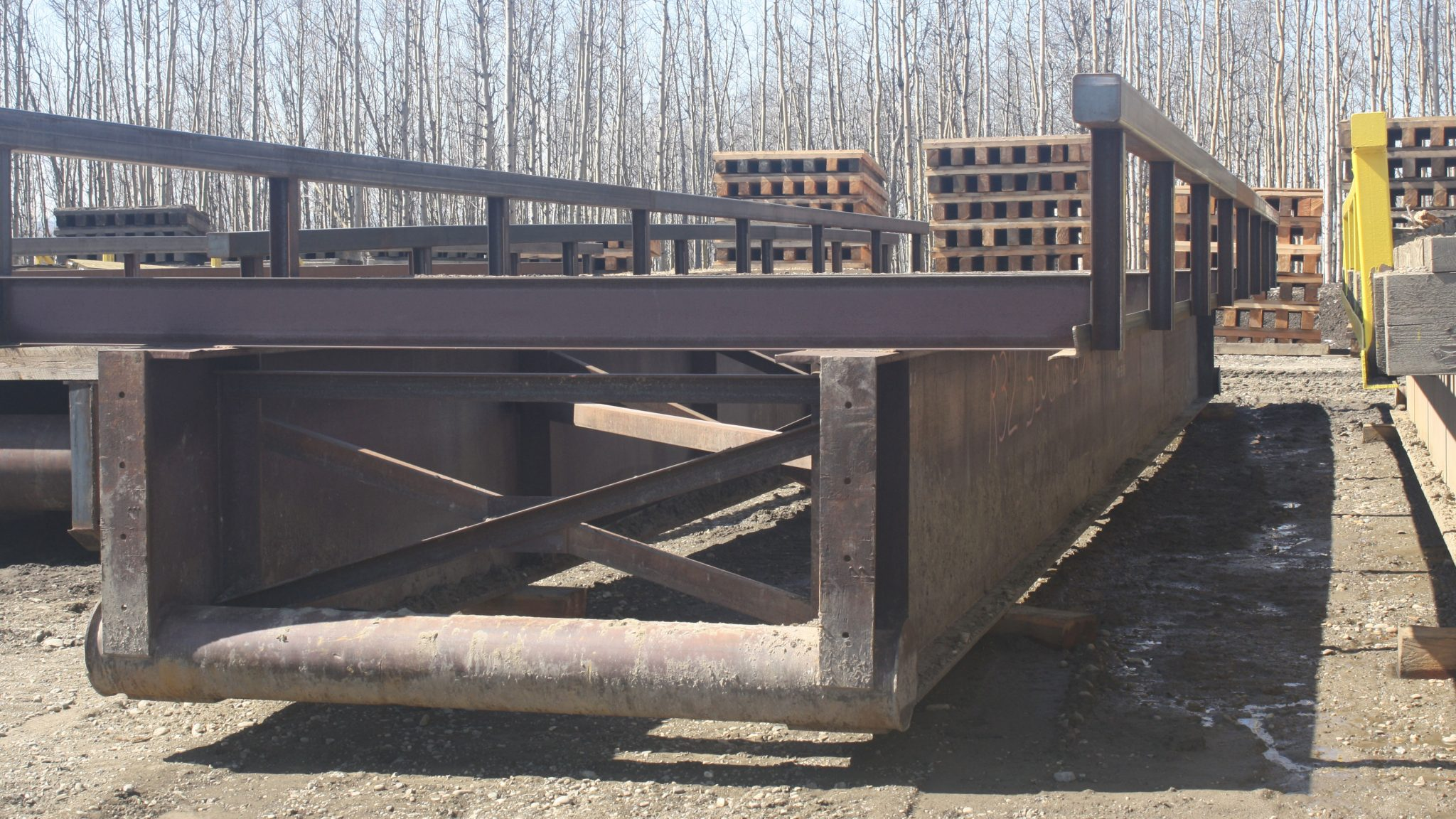 TEMPORARY PORTABLE Bridge | Bridge Construction & Mat Rental - Great Northern Bridgeworks