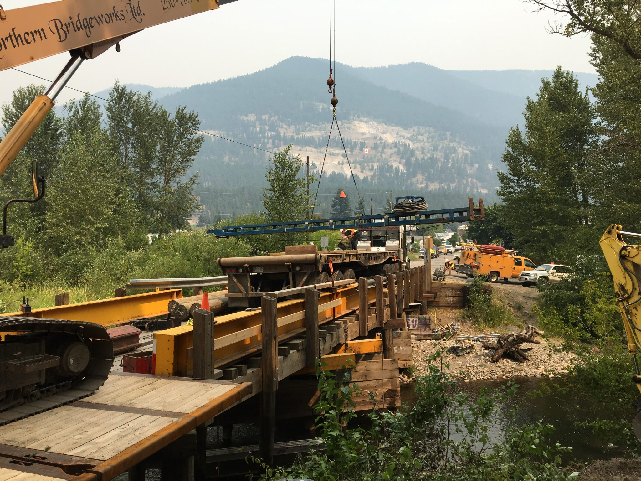 Great Northern Bridgeworks Pile Driving