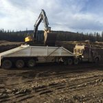 Removing Dirty Dirt & Remediating Land in Western Canada