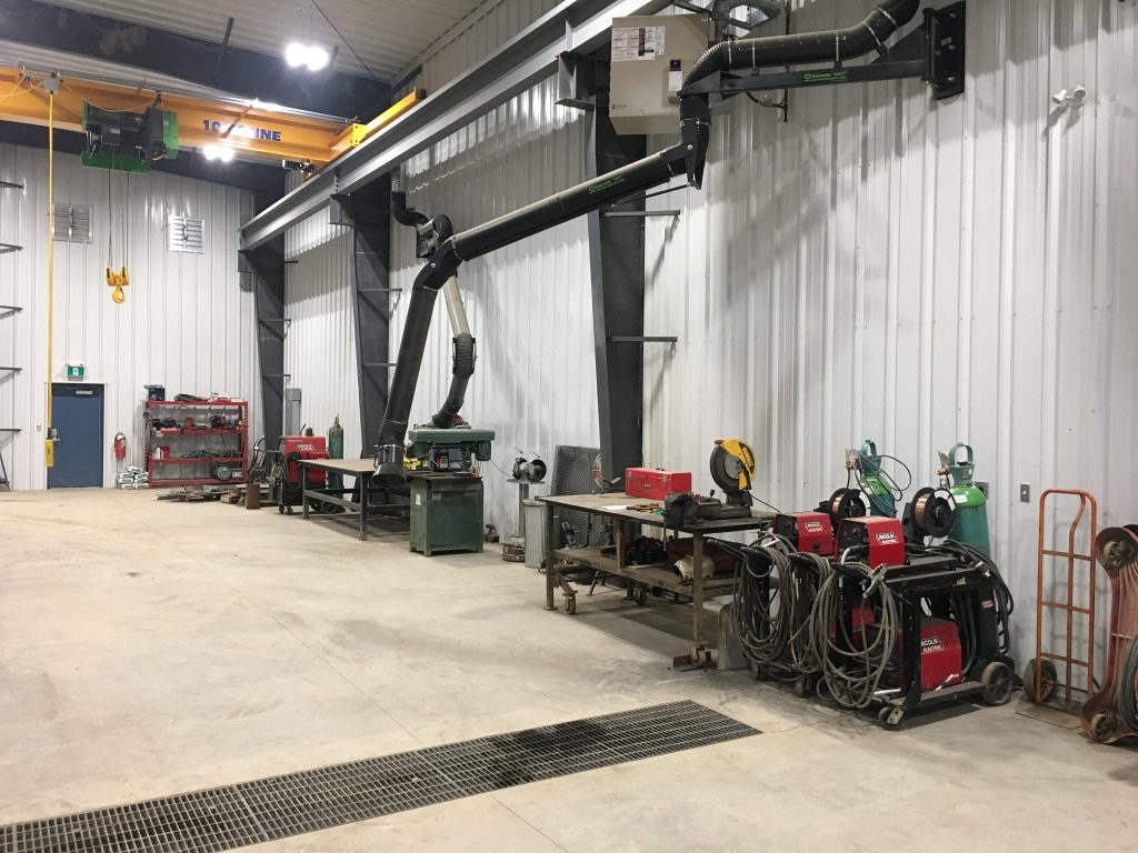 Welding Shop | Great Northern Bridgeworks