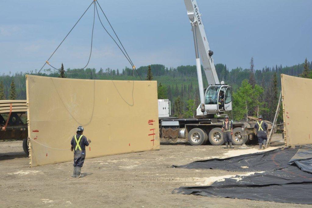 C Ring tank construction